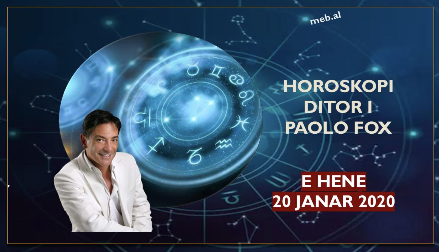 Photo of Parashikimi i astrologut PAOLO FOX për ditën e hënë, 20 janar 2020