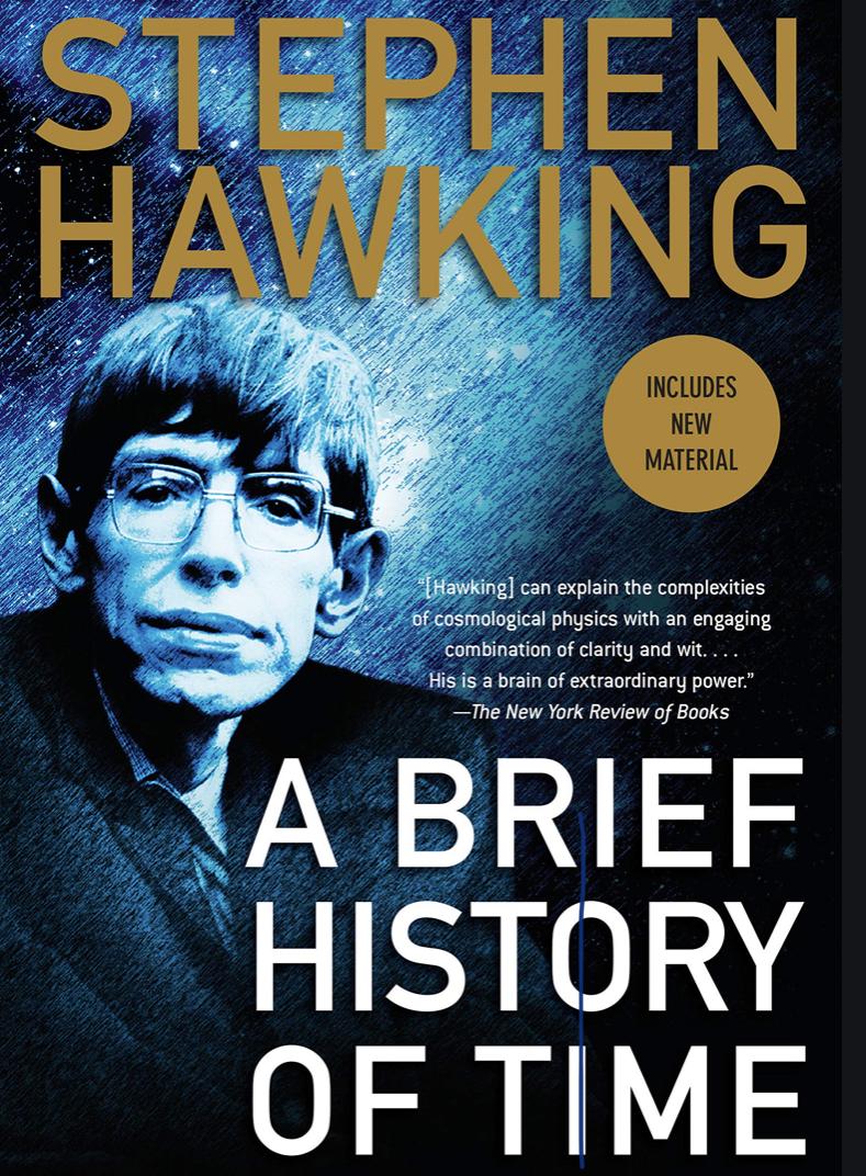 """Photo of Libra që duhet t'i lexoni patjetër: """"Një histori e shkurtër e kohës"""" nga Stephen Hawking"""