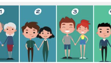 Photo of Zgjidhni çiftin që mendoni se është më i lumtur dhe zbuloni se çfarë thotë zgjedhja juaj