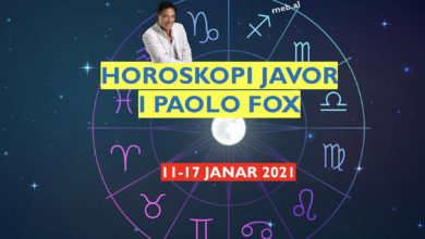Photo of Horoskopi JAVOR i Paolo Fox, 11 deri në 17 janar 2021